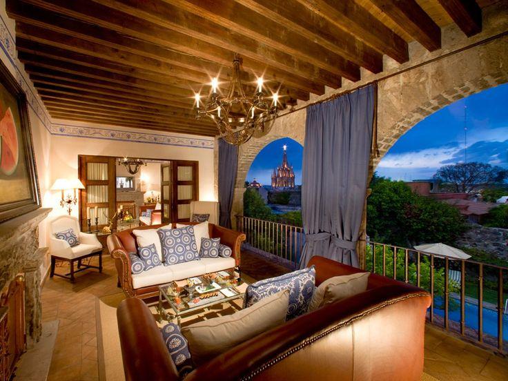 san miguel de allende mexico | Casa de Sierra Nevada, San Miguel de Allende: Mexico Resorts : Condé ...