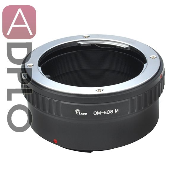 Объектив переходное кольцо костюм для Olympus OM объектив Canon EOS M EOS M2 EF-M EOS-M адаптер беззеркальных камер