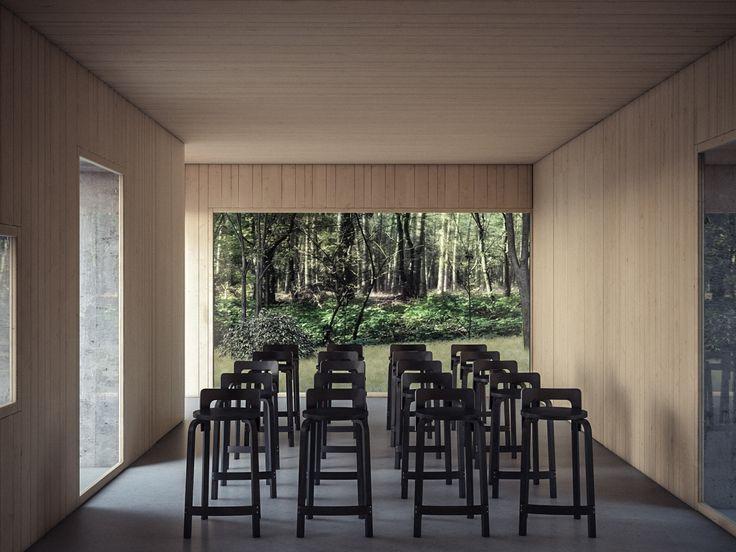 render build-design sala polifunzionale