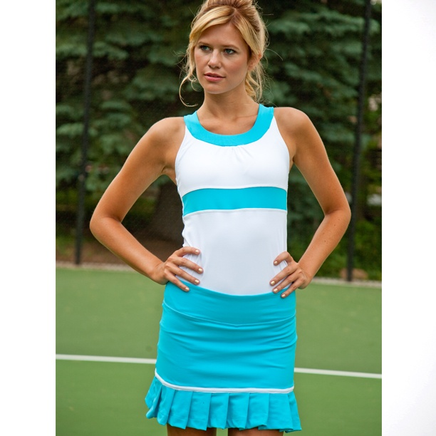 Albion Fit U- Line Top and Pleat Skirt