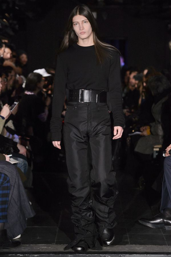 Y/PROJECT AW16 HOMME RUNWAY LOOK 28