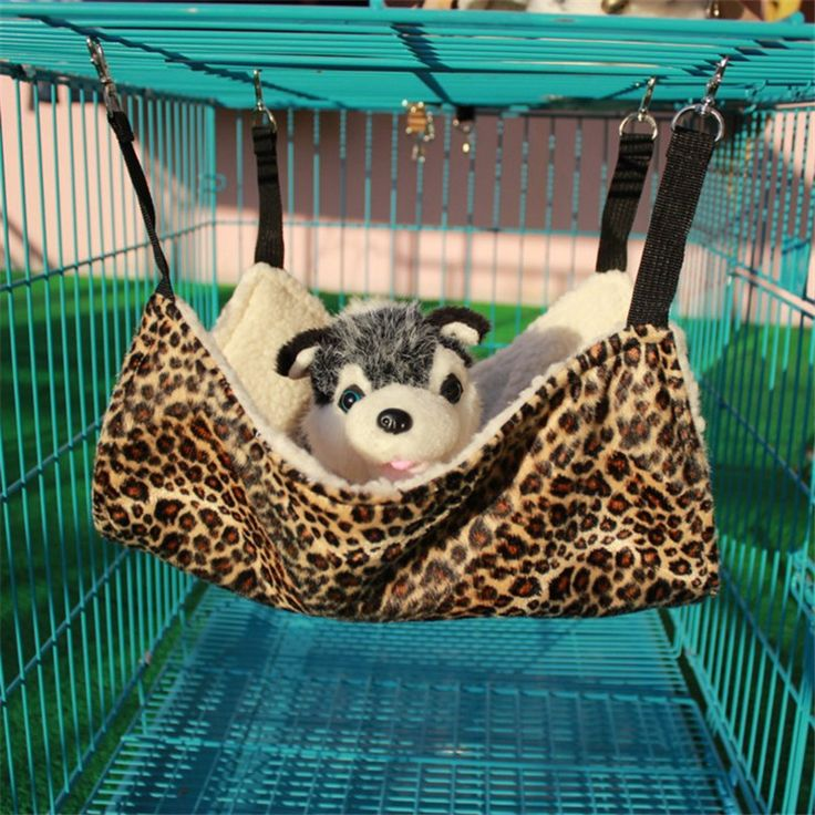 Hot Sale Nice & Warm Cat Bed Pet Hammock For Pet Cat Rest & Cat House Soft And Comfortable Cat Ferret Cage