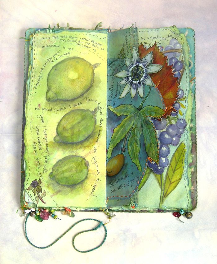 416 Best Images About Art Mixed Media Amp Fabric Journals
