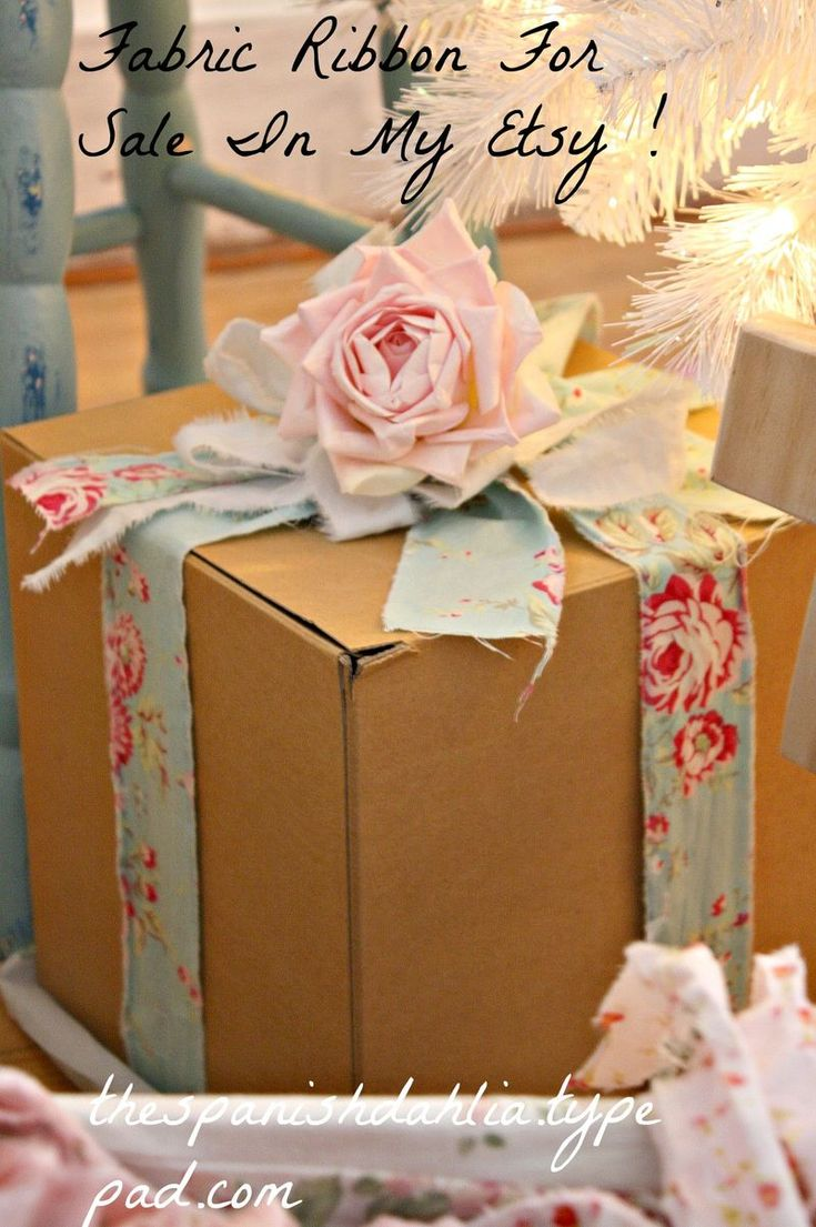 Lovely gift wrapping!