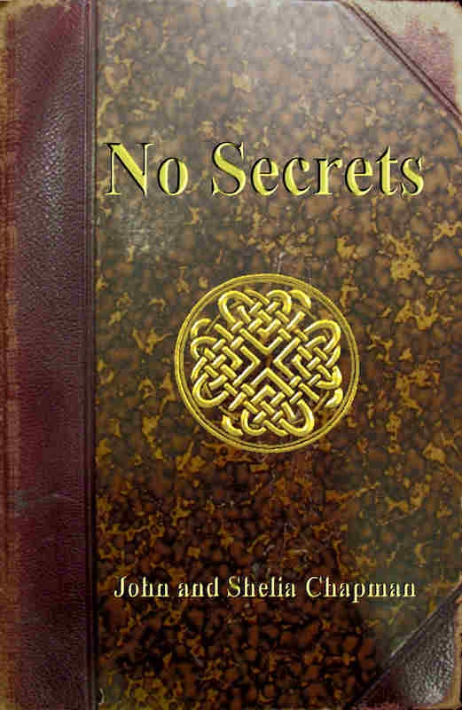 No Secrets was based on discoveries in an old diary - so we used an old book in it and added a Celtic Knot