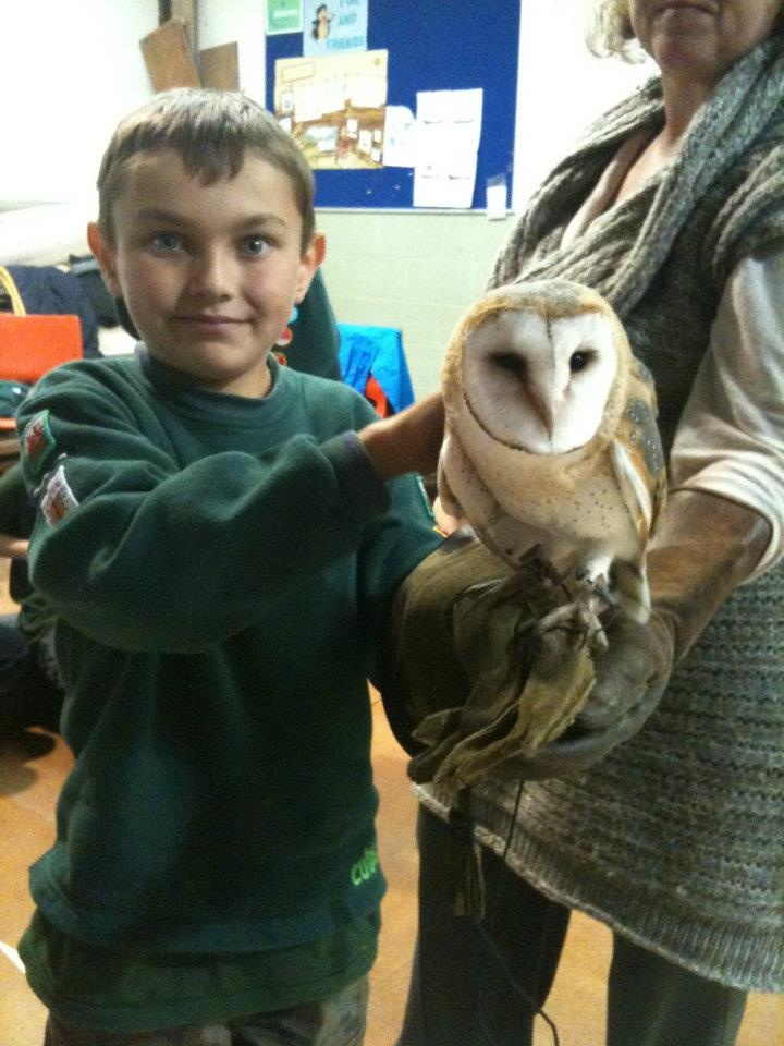 Danny loves Owls and Falconry   #CPFamilyBreaks