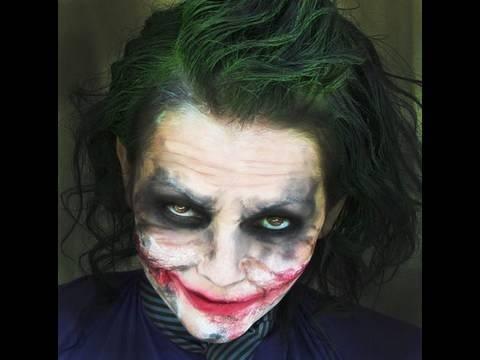 Pinterest\'teki 25\'den fazla en iyi Halloween makeup videos fikri
