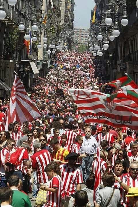 """Esto es una """"afición"""". Aupa Athletic!!!"""