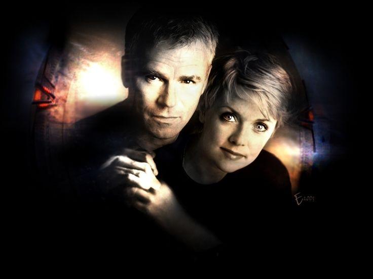 Stargate SG1 Sam Carter and Jack O'Neill