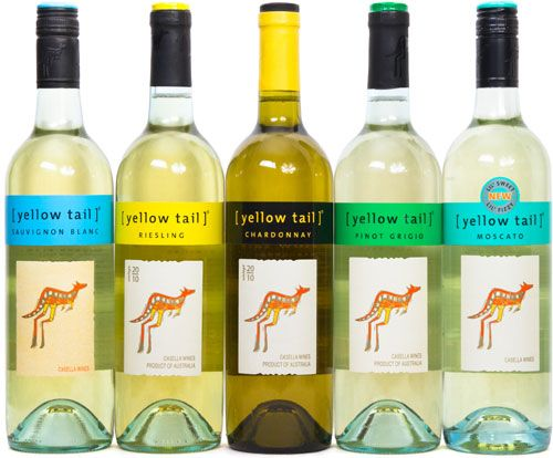 Yellow Tail Wines.