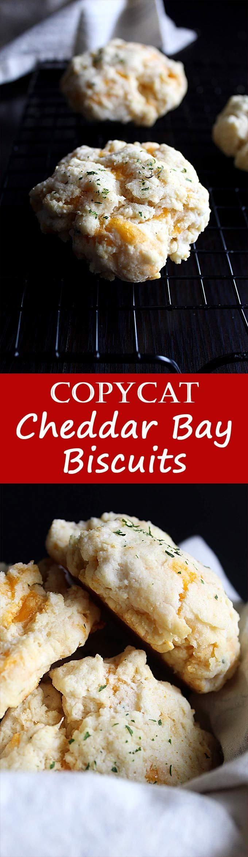 Copycat Red Lobster Cheddar Bay Biscuits Recipe | Super Easy | Bisquick | Cheddar Garlic Biscuits | Snacks | Dinner Rolls | From Scratch