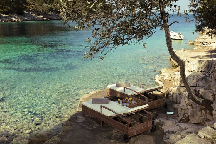 Little Green Bay sur l'île de Hvar