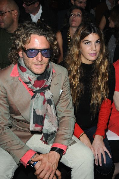 Lapo Elkann Patterned Scarf
