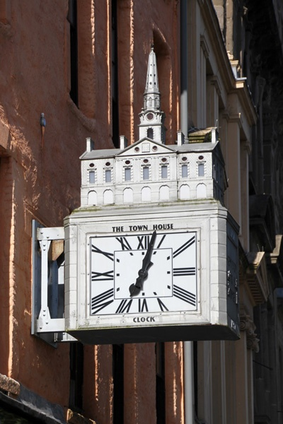 The Town House Clock - Dundee, Scotland