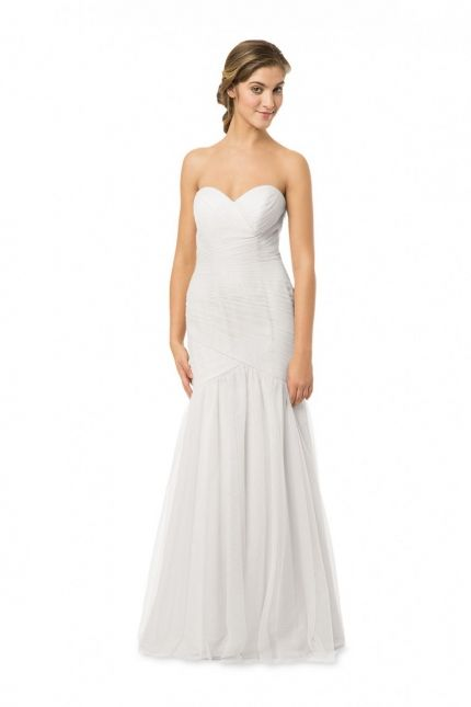 Looks spectacular in this wedding gown from Bari Jay Wedding Dress EN-2051. The intricate crossing pattern of luxurious English Net across the bodice is positively stunning while the sweetheart strapless neckline attracts all the right attention. http://www.trendycollection.com/bari-jay-bridesmaids-item-20928&category_id=0&ajax=1?category_id=0&pagenum=10&iteration=9&scrollflag=1