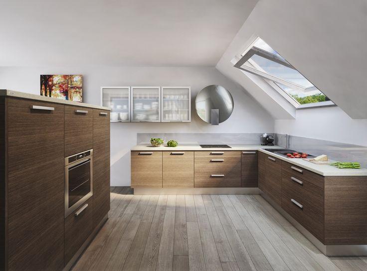 Etniq moderní kuchyně v exotickém dezénu / modern kitchen