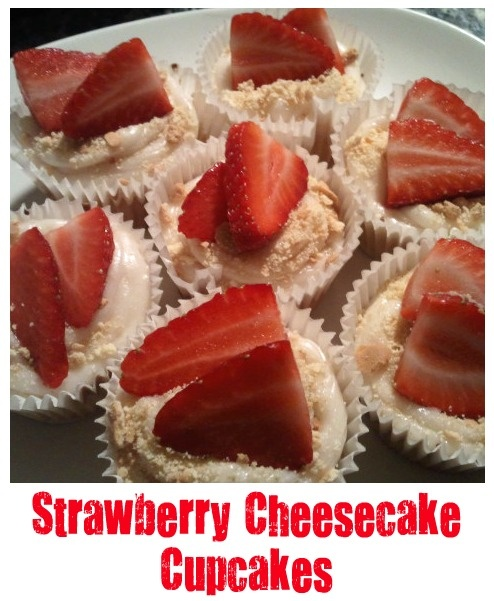 A matter of choice: My Strawberry Cheesecake Cup Cakes