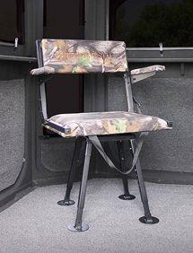 Comfort Quest Adjustable Swivel Chair Redneck Blinds