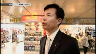 Virtual store opens in Korea, via YouTube.
