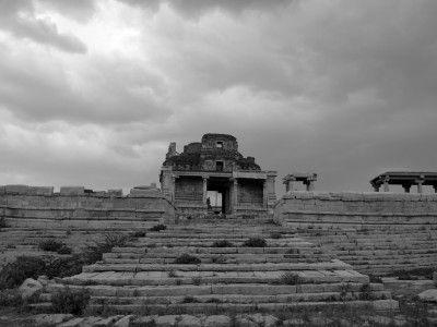The Bala Krishna temple, Hampi, Karnataka, India #India #Kamalan #culture #photo #travel