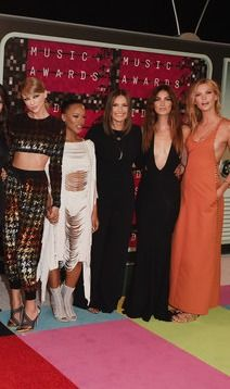 "Taylor Swift Brought Her Whole ""Bad Blood"" Girl Gang to the MTV VMAs"