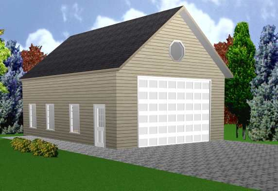 Rv building designs rv garage plans 24 by 36 with 12 for Block garage building plans