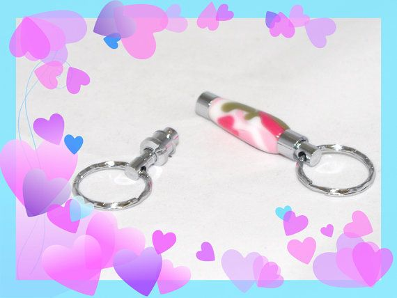 Handmade Key Chains. Acrylic Key Chain. Dual KeyChain. Detachable Keychain. Valentine's Day Gift for Her - Best Valentine's Day Gifts