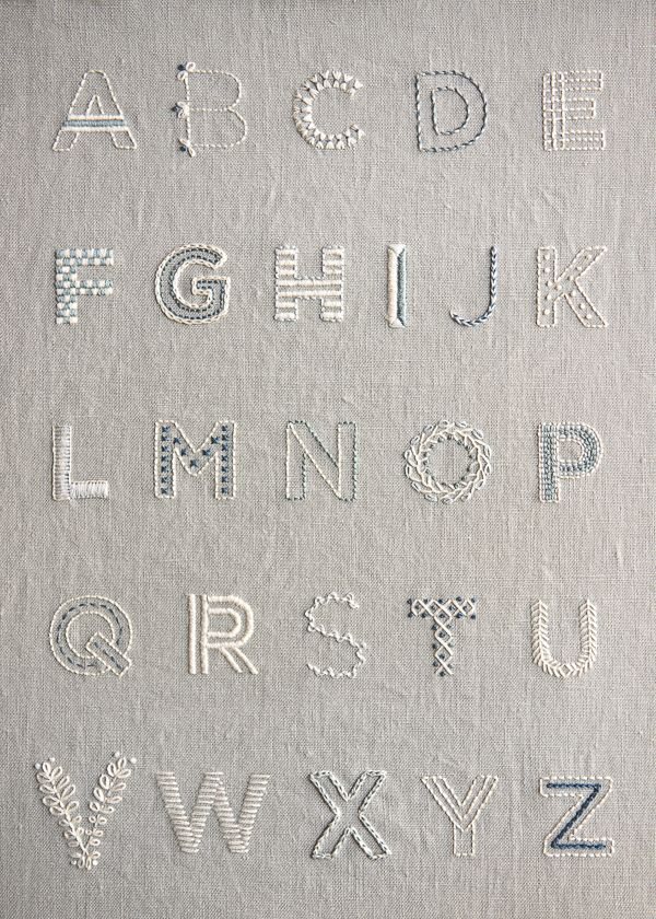 Best embroidery letters ideas on pinterest