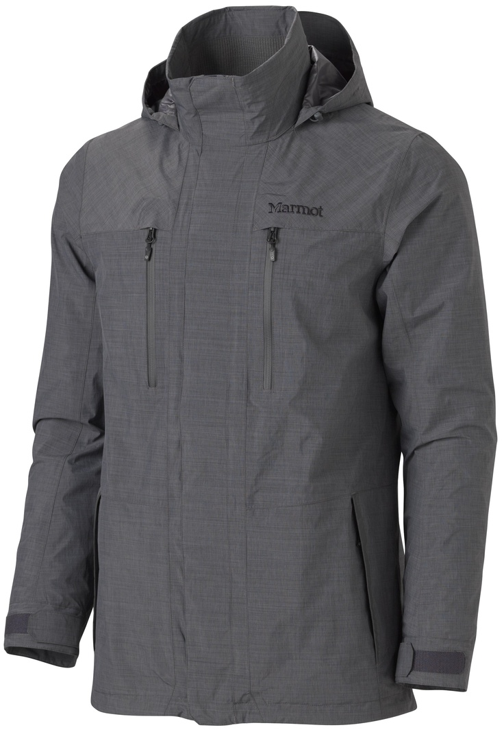 My new rain jacket. Almost willing it to rain so I can test it. View Marmot Camden Jacket