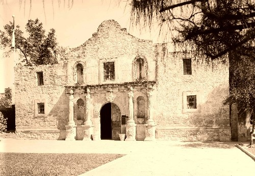 At the Alamo there were 200 camped out American soldiers were staying. Mexico attacked with hundreds upon hundreds of soldiers. All the Americans died but let Sam Houston make an army large enough to take over Mexico.