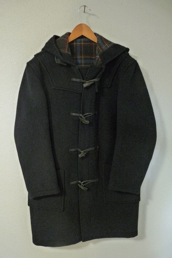 Vintage LIKE NEW Red Eddie Bauer Jacket / Coat w/ Plaid Lining and Detachable Hood 5csoGgB8