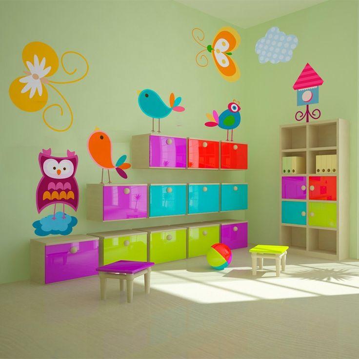 71x50 cm adhesivo mural stickers + vinilo de pared 71x50 040204-40 ni?os: Amazon.es: Hogar