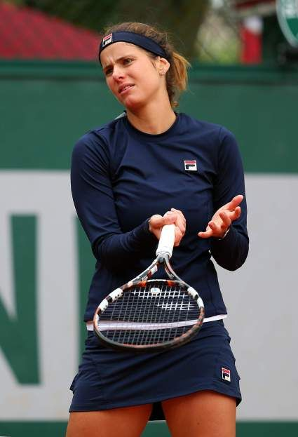 Julia Görges on Day4 at Roland Garros May 28-2014 #WTA #Goerges #RolandGarros