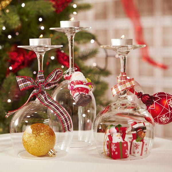M s de 25 ideas nicas sobre adornos navide os hechos a - Centros de mesa navidenos hechos a mano ...