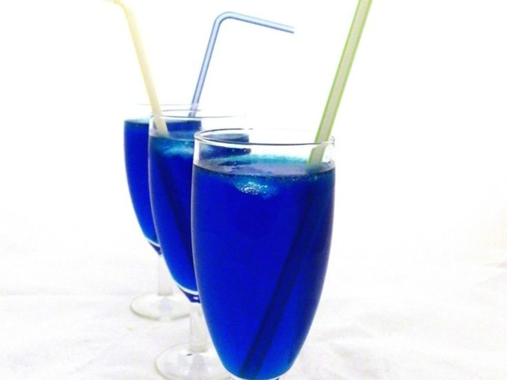 Błękitne drinki