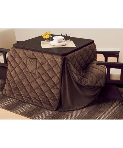 洗えるこたつ掛け布団 正方形 ダイニングこたつ用(ブレイク12) kotatsu for reg seats