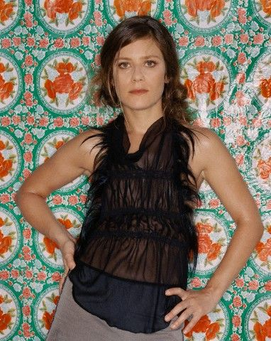 French actress Marina Foïs