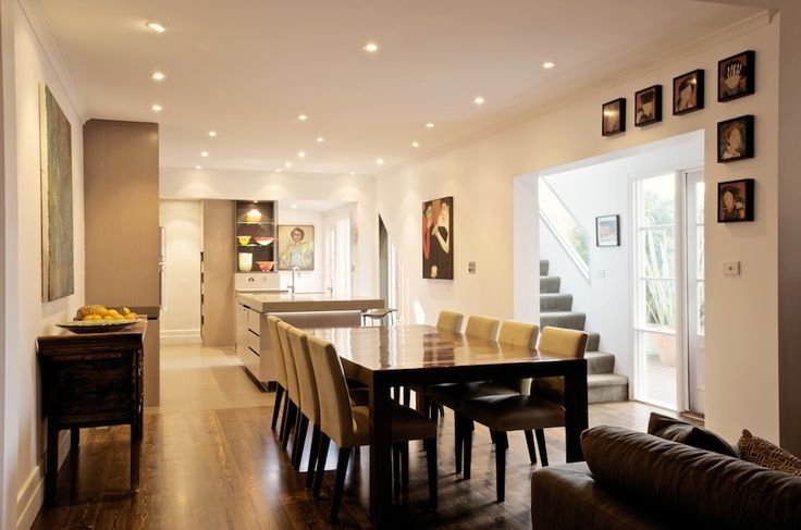Turning three rooms into one at our South Melbourne project. Kitchen/Pantry/Dining/Laundry spaces
