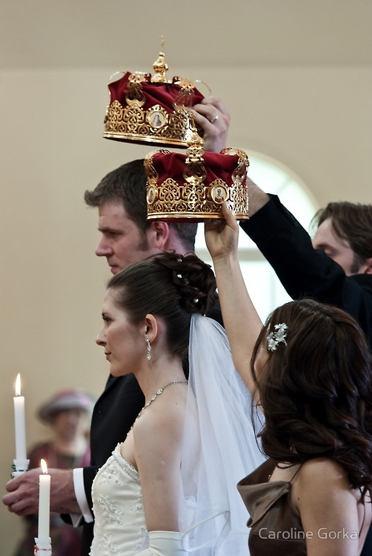 Russian Orthodox Wedding We Need The Red Crowns In Our Christian Weddings Awesome And Beautiful