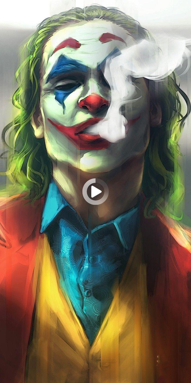 Joeyoung 3d Face Sun Mask Batman Joker Wallpaper Joker Painting Joker Cartoon Harley quinn live wallpaper