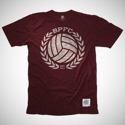 outlet store 42c48 58548 ... athletic grey  BPFC Crest in Plum White Bumpy Pitch Pinterest . ...