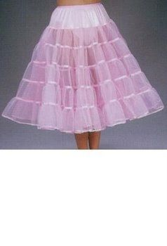 The black: Deluxe 27-inch Petticoat for Poodle Skirts - 50's Sock Hop Costumes - Candy Apple Costumes