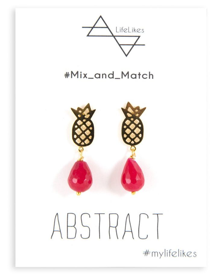 MyLifelikes mixand match abstract earrings  #pineapple #earrings #abstractcollection #fashion #style #womenstyle #fashionstyle
