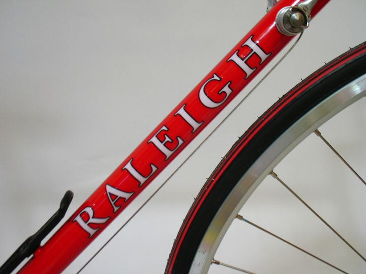 Custom bicycle decals are applied in our decal gallery from happy customers