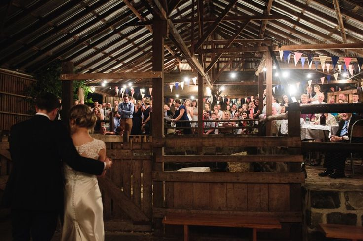 Amy and Aaron were married on a beautiful spring day under the oak tree at the Collingwood Children's Farm. Celebrations kicked off after drinks at the tree in the rustic barn
