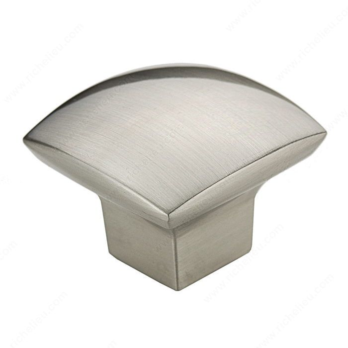 richelieu inch square cabinet knob from the expression collectio brushed nickel cabinet hardware knobs square