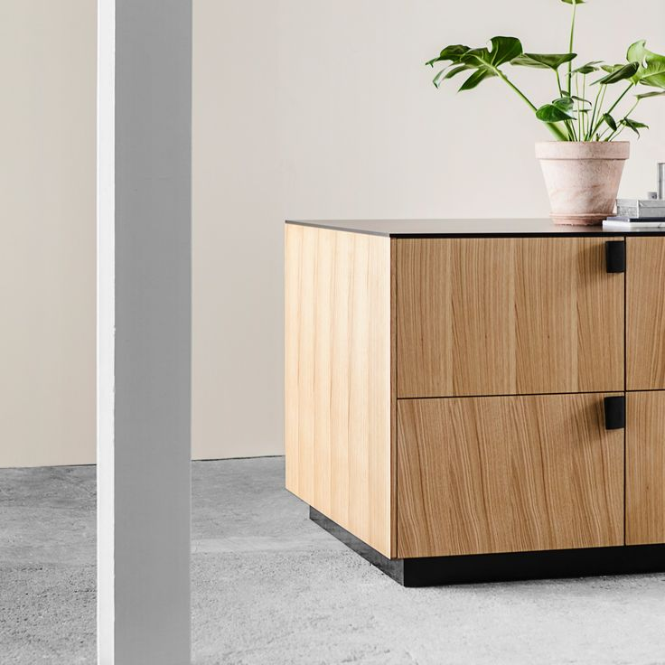 Reform / Kitchen / Design by BIG -Bjarke Ingels Group / Home / Interior / Design / The Reform kitchen hack by BIG, Bjarke Ingels Group, is defined by its handles, which are made from the same fabric used to make seat belts.