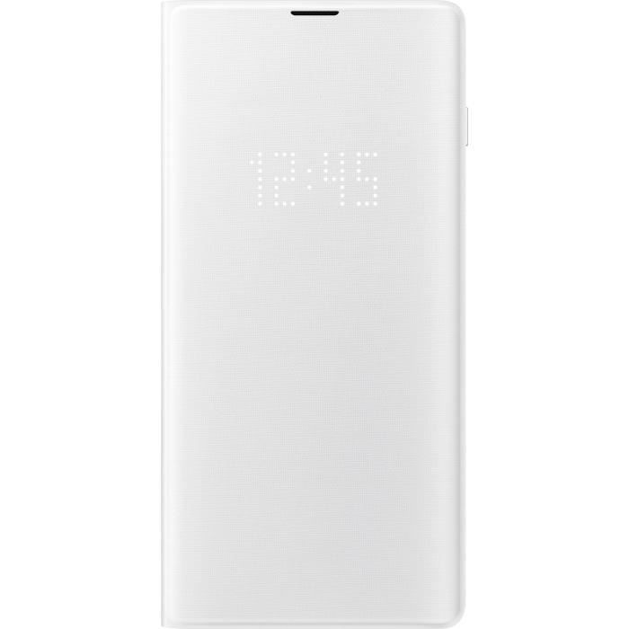 Samsung Led View Cover S10 Blanc Samsung Led Et Galaxy