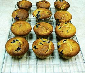 Odlums |Cinnamon Blueberry Muffins | Sweet Recipes | Pinterest