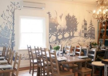 Wombat Hill House cafe is beautifully decorated and has delicious food. The cafe is in the Wombat Hill Botanical Gardens, so after a stroll around gardens you can enjoy some refreshments at the cafe with the flying wombat.